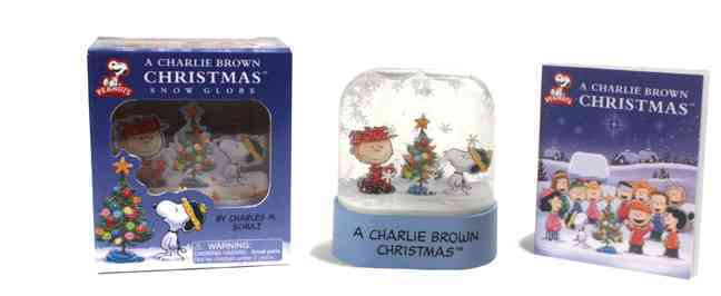 A Charlie Brown Christmas Snow Globe By Schulz, Charles M.