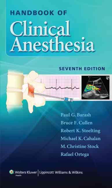 Handbook of Clinical Anesthesia By Barash, Paul